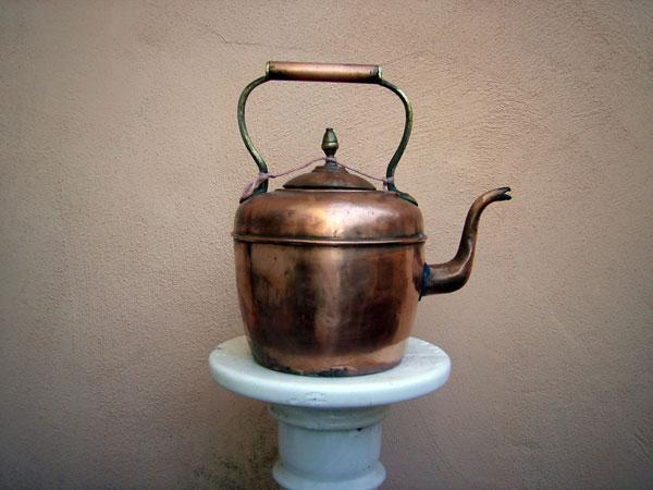 Cafetera de cobre. Ref. ACM
