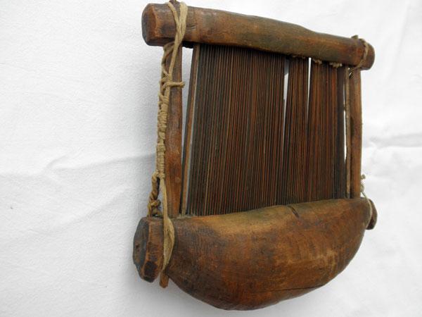 Antiguo telar artesanal de Mali. Ref. ACT