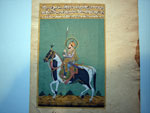 Persian miniature painting, knight. Ref. APM