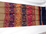 Chal tradicional de seda bordado a mano. Laos. Ref. CFC