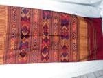 Chal tradicional de seda bordado a mano. Laos. Ref. CFD