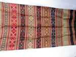 Traditional silk hand-embroidered shawl from Northern Laos.. Ref. CFE