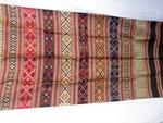 Chal tradicional de seda bordado a mano. Laos. Ref. CFE