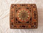 Caja baul de taracea de Damasco. Ref. CTD