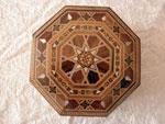 Caja octogonal de taracea de Damasco.. Ref. CTH