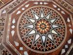 Caja octogonal de taracea de Damasco.. Ref. CTL