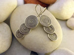Sterling silver ethnic earrings.. Ref. DBW