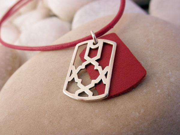 Sterling silver pendant.. Foto 1