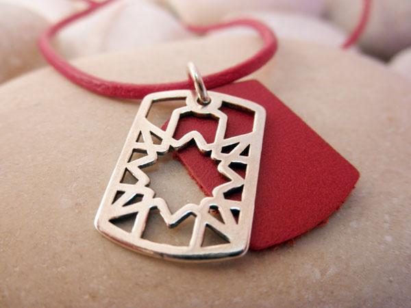 Sterling silver pendant.. Foto 2