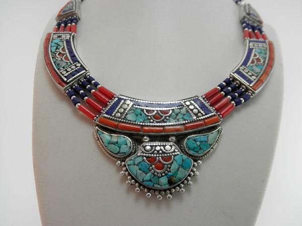 ethnic tibetan necklace 90 eur jewellery necklaces