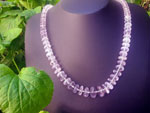 Kunzite and silver necklace.. Ref. EMT