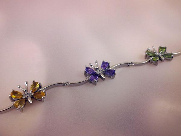 Sterling silver bracelet.. Foto 1