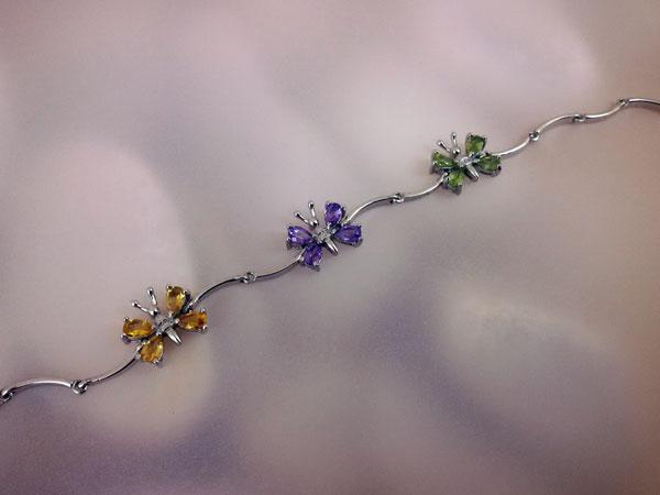 Sterling silver bracelet.. Foto 2