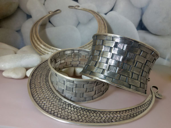 "Bracelet ""Karen"" made in Sterling silver.. Foto 1"