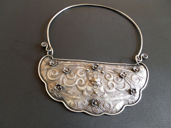 """Uigur"" Traditional Silver necklace,. Foto 1"