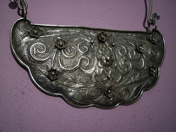"""Uigur"" Traditional Silver necklace,. Foto 2"