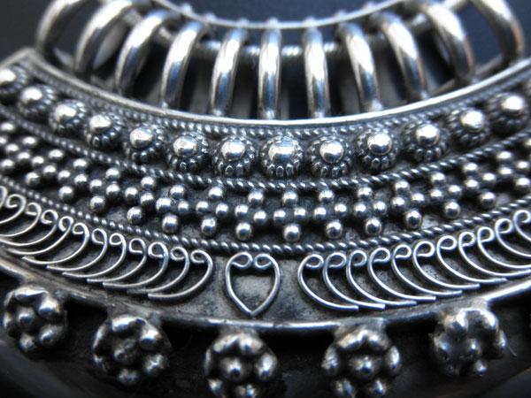 """""""Ta`wiz"""". Ethnic silver pendant. Uttar Pradesh, India.. Foto 2"""
