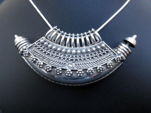 """""""Ta`wiz"""". Ethnic silver pendant. Uttar Pradesh, India.. Foto 3"""