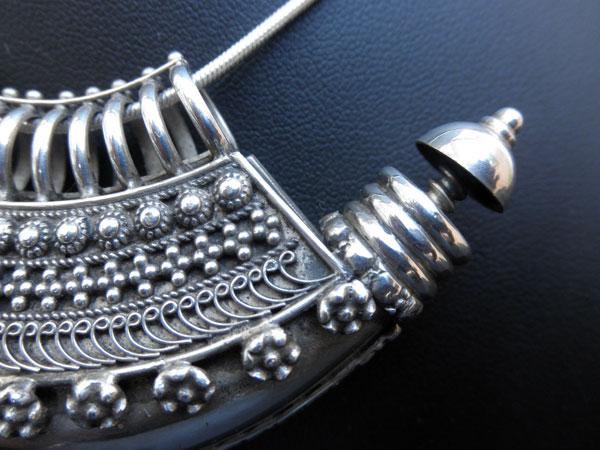 """""""Ta`wiz"""". Ethnic silver pendant. Uttar Pradesh, India.. Foto 4"""