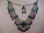 Ethnic traditional necklace from Afghanistan.. Ref. JKO