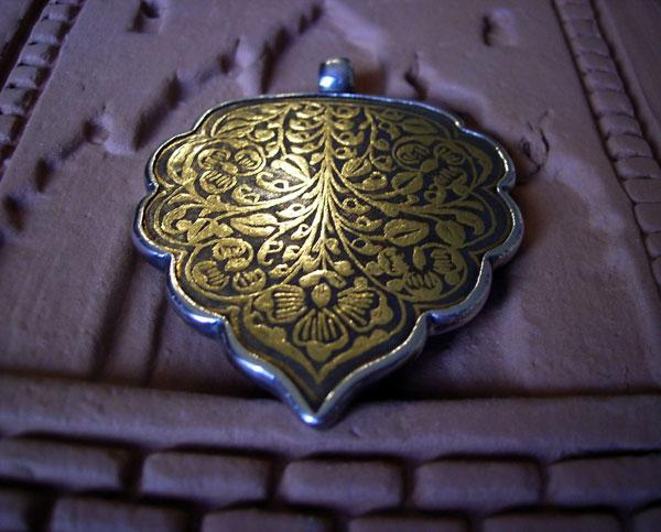 Colgante tradicional persa. Foto 2