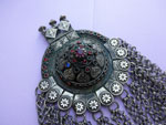 Ethnic traditional handmade pendant from Dagestan. Ref. JLP