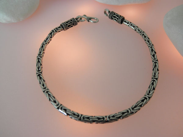 Sterling Silver Handcrafted Bracelet From Bali 65 Eur