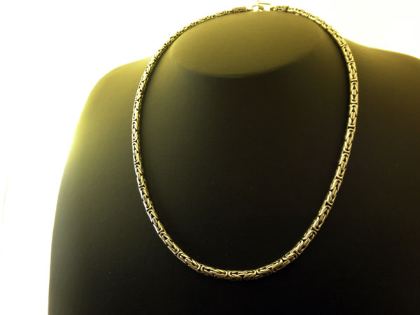 Sterling silver handcrafted nacklace from Bali.. Foto 1