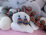 Tibetan traditional earrings.. Ref. MFR