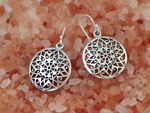 Sterling silver ethnic earrings.. Ref. MHV