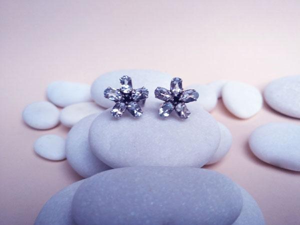 Aquamarine and sapphire earrings.. Foto 2