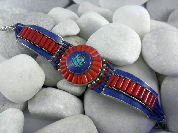 Pulsera etnica artesanal Tibetana.. Ref. NAS