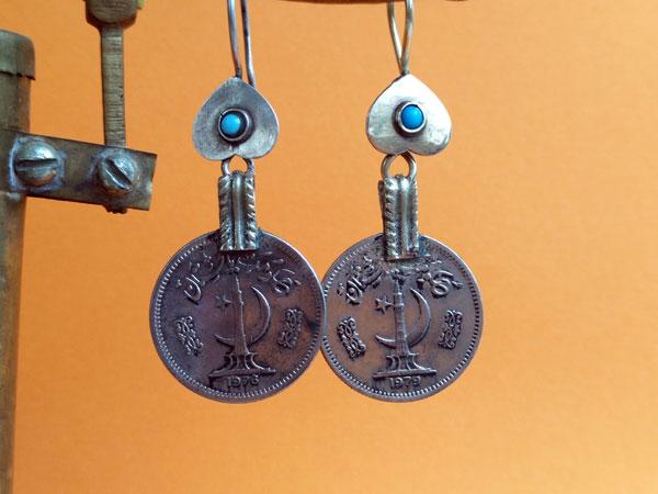 Pendientes etnicos artesanales.. Foto 3