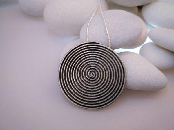 """Karen"" Ethnic Sterling silver pendant.. Foto 1"