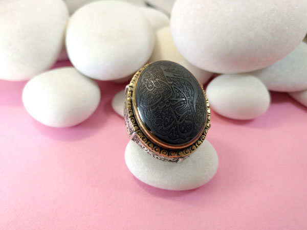 Antiguo anillo etnico artesanal.. Ref. TDN