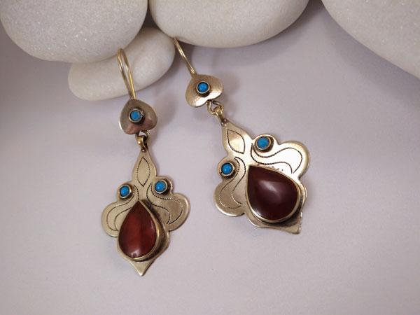 """""""Tekke"""" ethnic earrings.. Foto 1"""