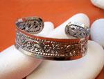 Karen hill tribe Sterling silver bracelet.. Ref. TFA