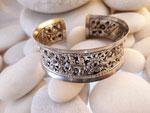 Karen hill tribe Sterling silver bracelet.. Ref. TFB