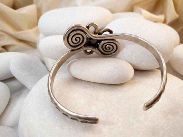 Karen hill tribe Sterling silver bracelet.. Foto 2