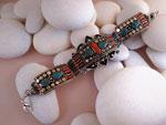 Tibetan ethnic bracelet.. Ref. TFE