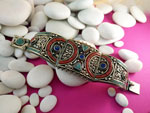Tibetan ethnic bracelet.. Ref. TFM