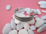 Sterling silver ethnic bracelet.. Ref. TFR