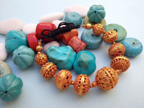 Traditional tibetan bracelet.. Foto 2