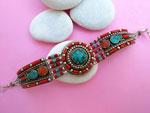 Tibetan ethnic bracelet.. Ref. THF