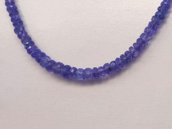 Collar de gemas de Tanzanita.. Foto 3