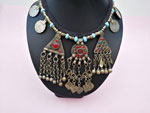 Ancient ethnic necklace from Central Asia. Ref. TPK