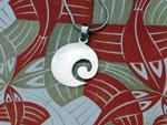 Karen ethnic traditional silver pendant.. Ref. TRX
