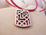 Andalusian handmade silver pendant.. Ref. TRY