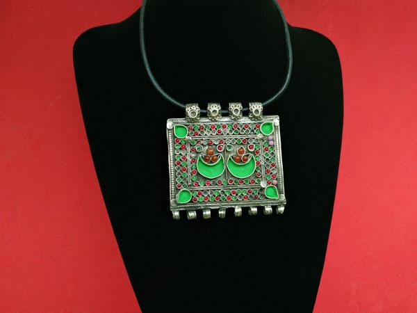 "Restored ancient ethnic pendant ""tawis"".. Foto 1"