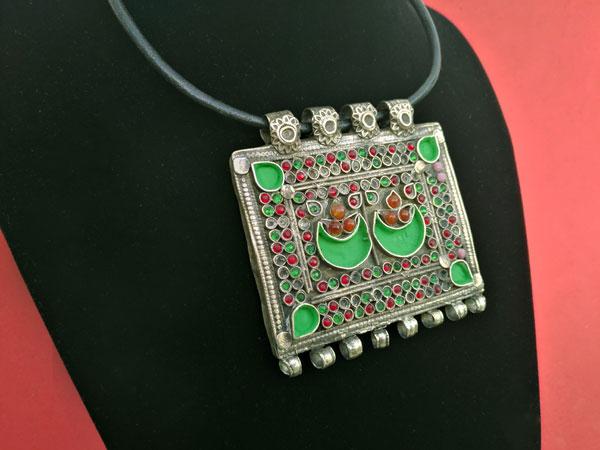 "Restored ancient ethnic pendant ""tawis"".. Foto 2"